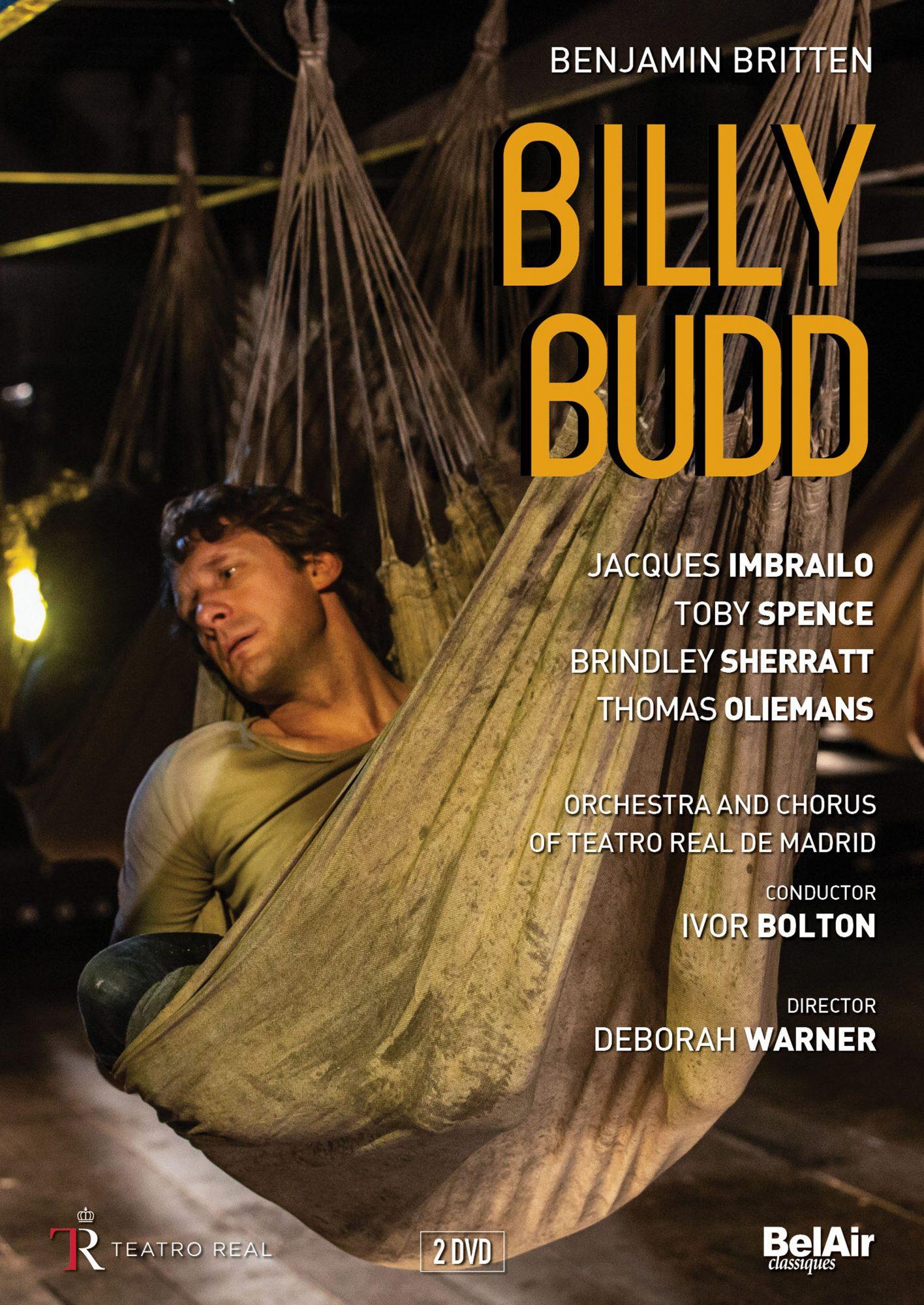 Billy Budd - Parce que l'opéra n'est pas forcément leur truc, votre famille appréciera forcément ce spectacle admirablement capté en DVD. La conviction des comédiens-chanteurs est telle que l'on ne fait plus la différence avec le théâtre. Impossible de ne pas succomber à la forte émotion suscitée par l'histoire de ce jeune matelot bègue avec cette mise en scène qui est une référence absolue pour tous.Billy Budd, Britten - Deborah Warner/Ivor Bolton (Bel Air Classiques)