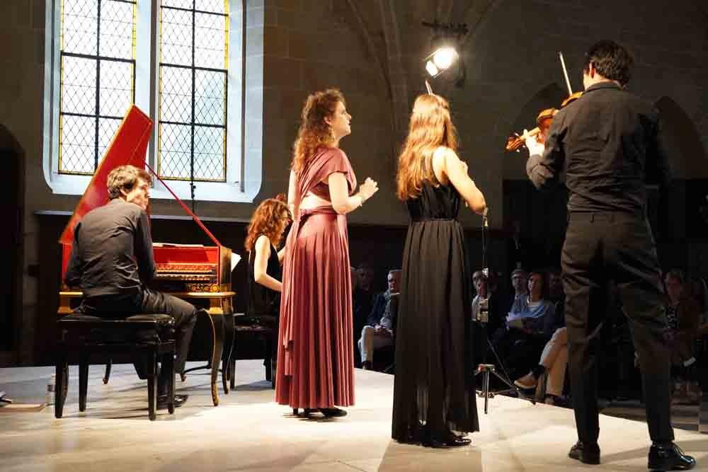 Festival Royaumont - Le Consort et Eva Zaïcik
