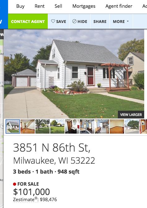 Milwaukee rental homes