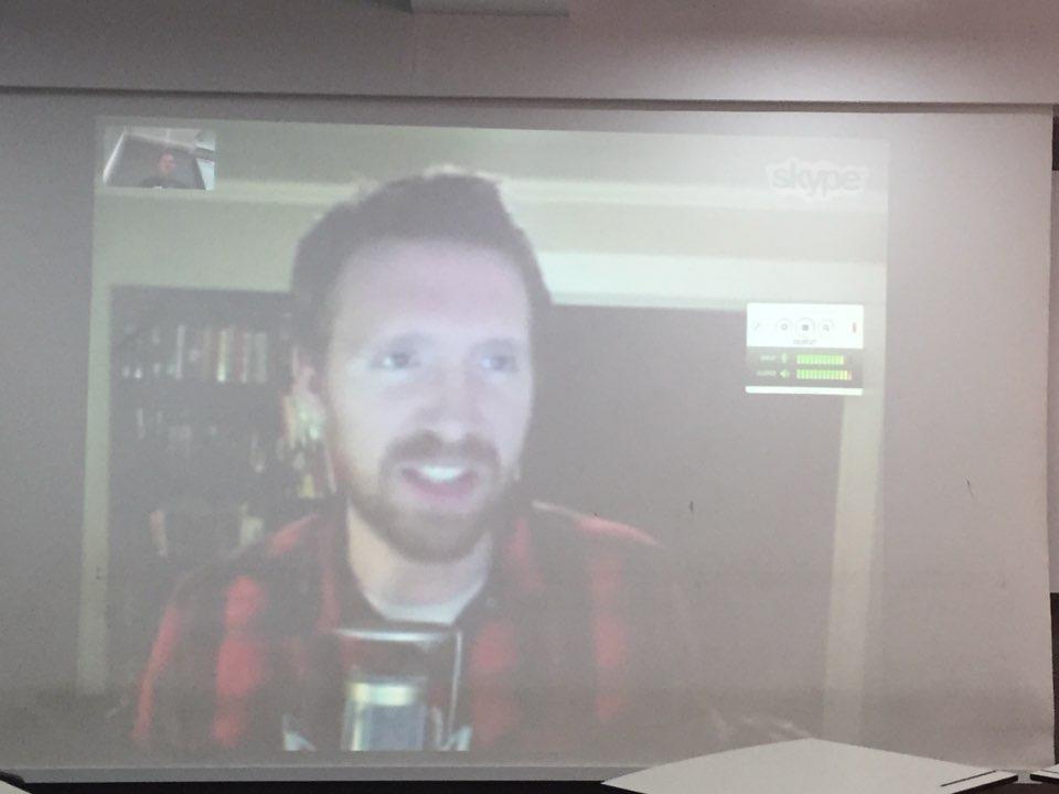 Brandon Turner on the big screen