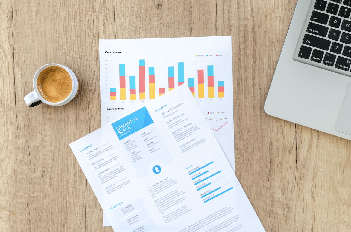 document resume report format