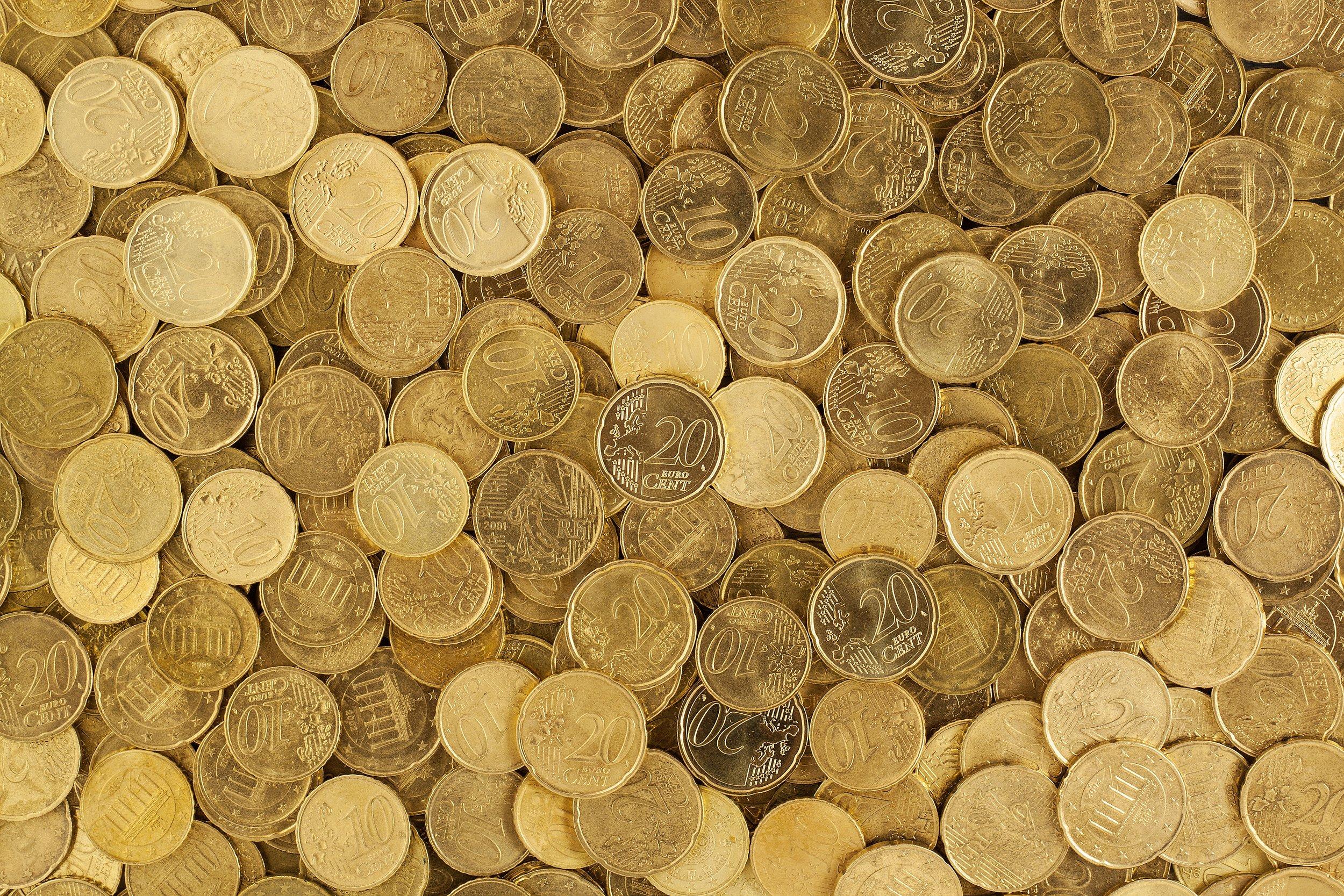 Coins Money Profits