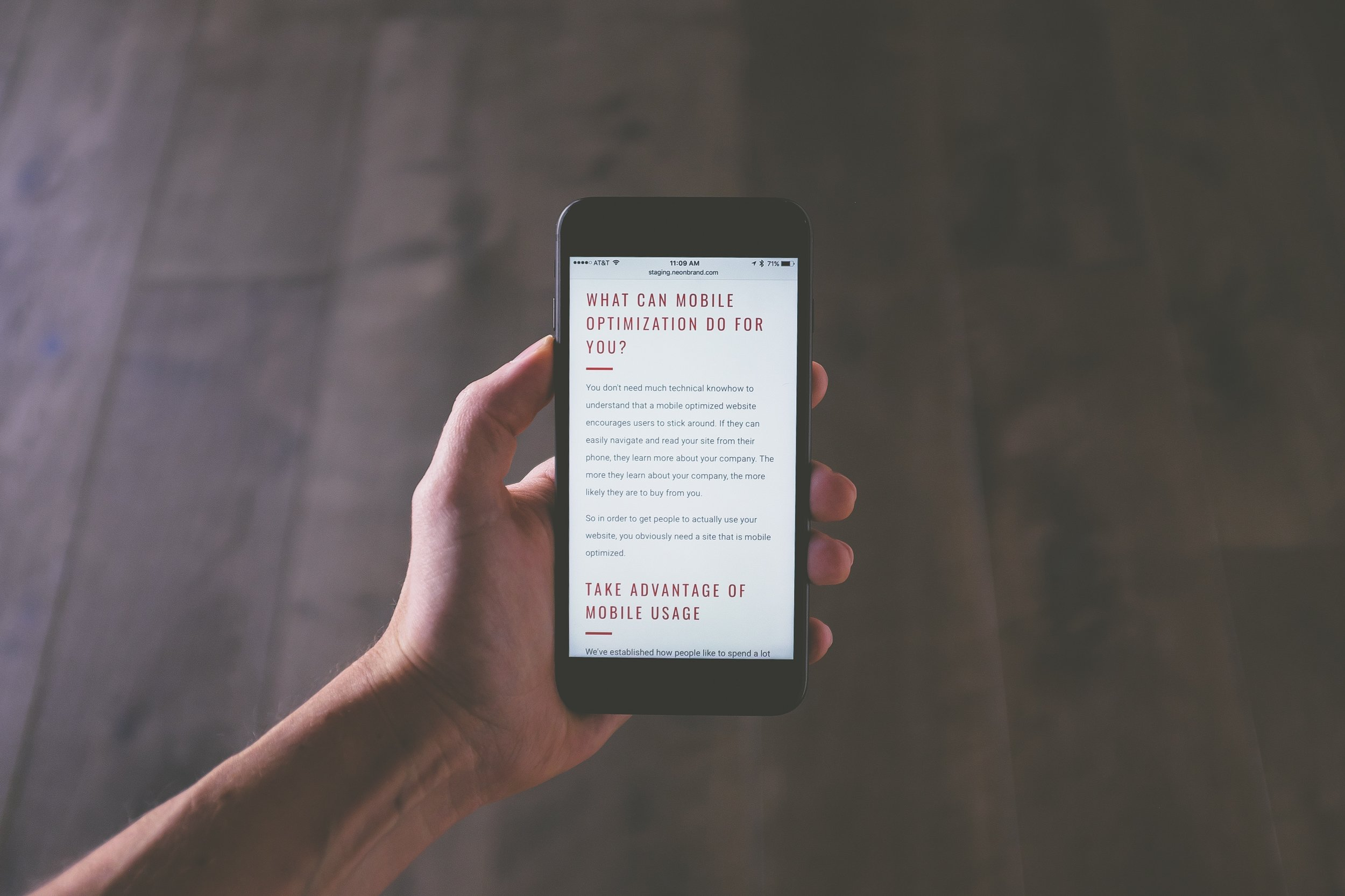 Digital Marketing Mobile