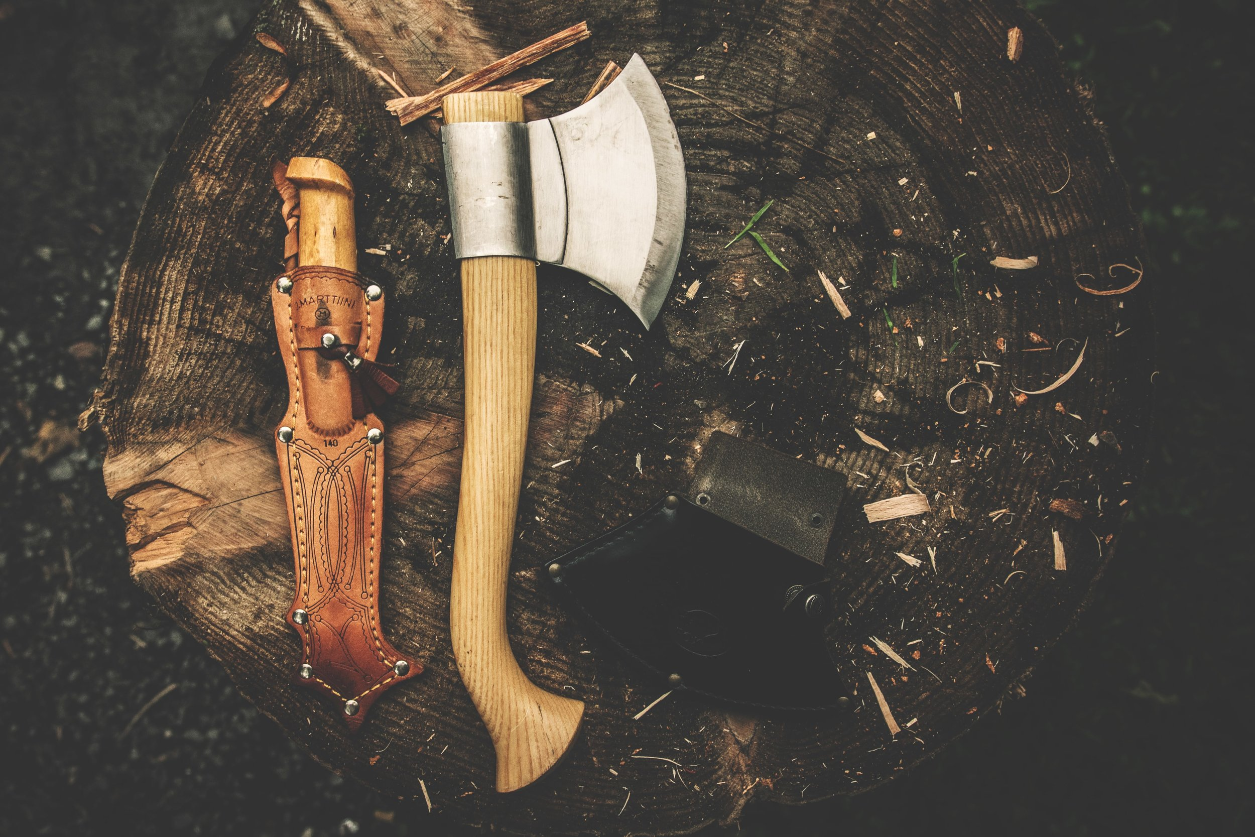 Sharpening the axe