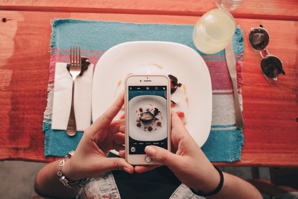 cafe instagram meal