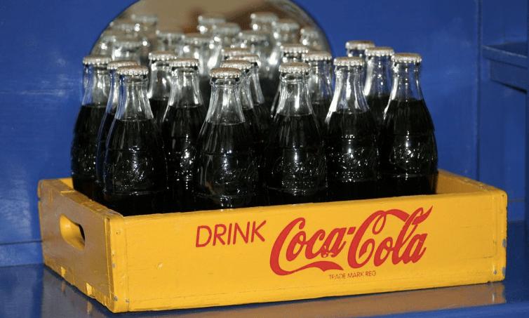 Selling coca cola at school