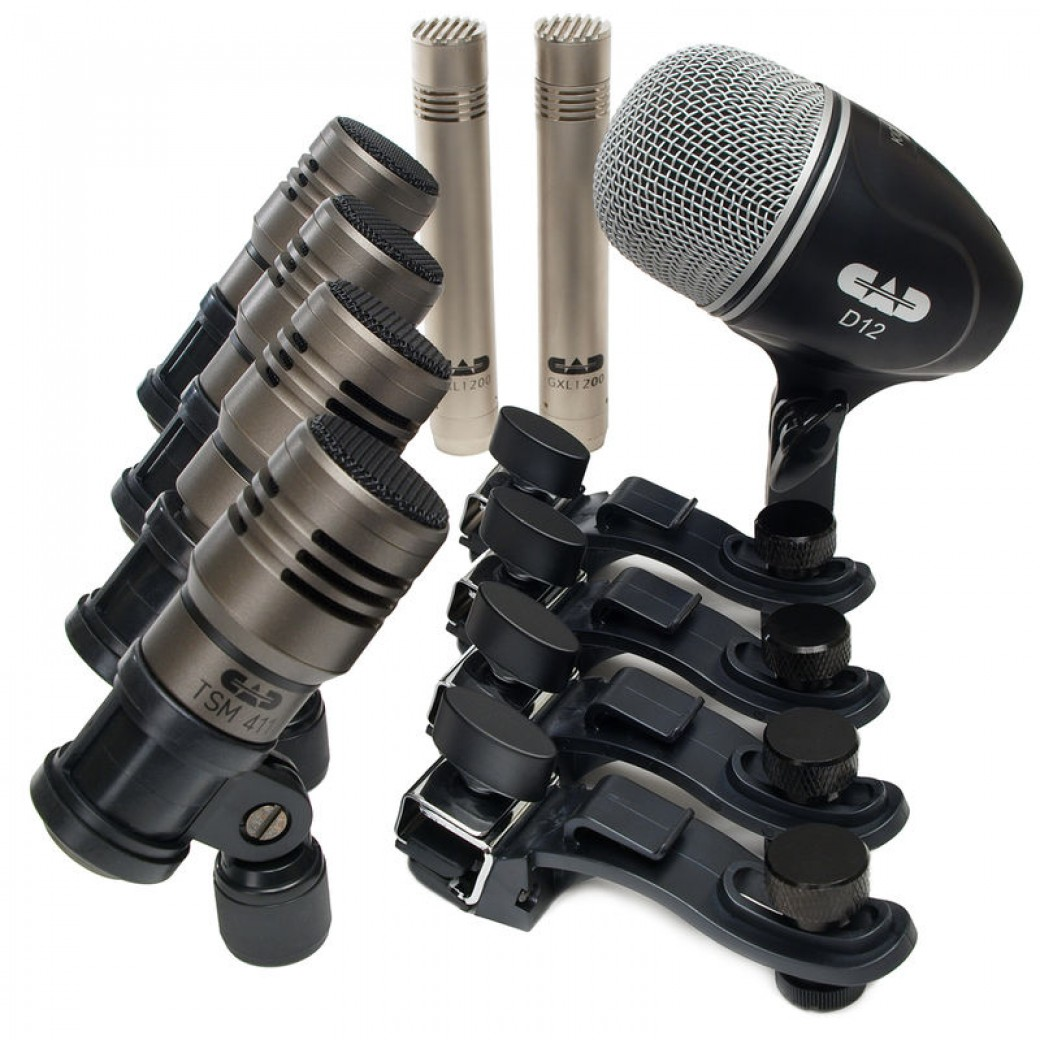 CAD Touring 7 percussion mics