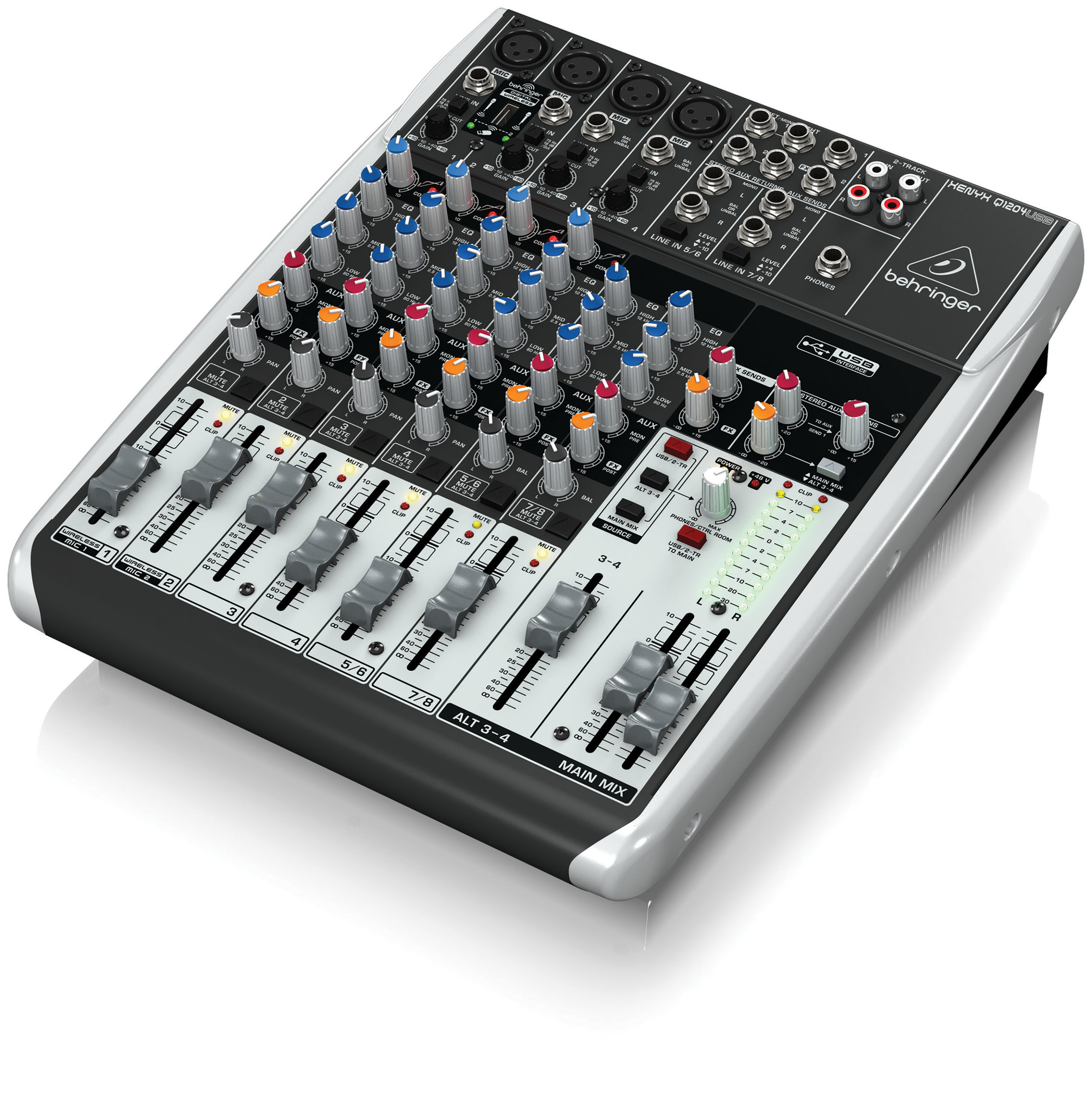 Behringer Q1204USB - simple to use at home or out live.