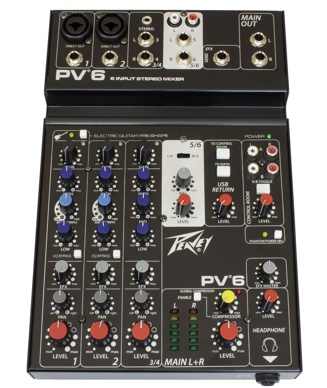 Peavey PV6 - simple and robust