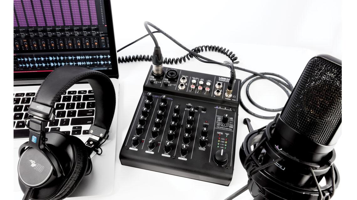 ART Audio USBMix6 - versatile and compact.