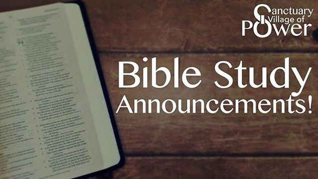 Happy Thanksgiving! We will not have Bible Study this evening. Enjoy this time with your family.