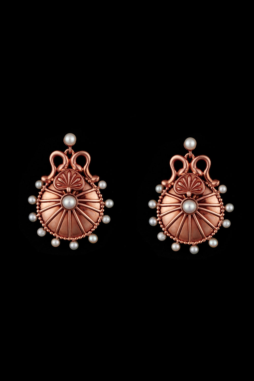 Lunar Disc - Earrings