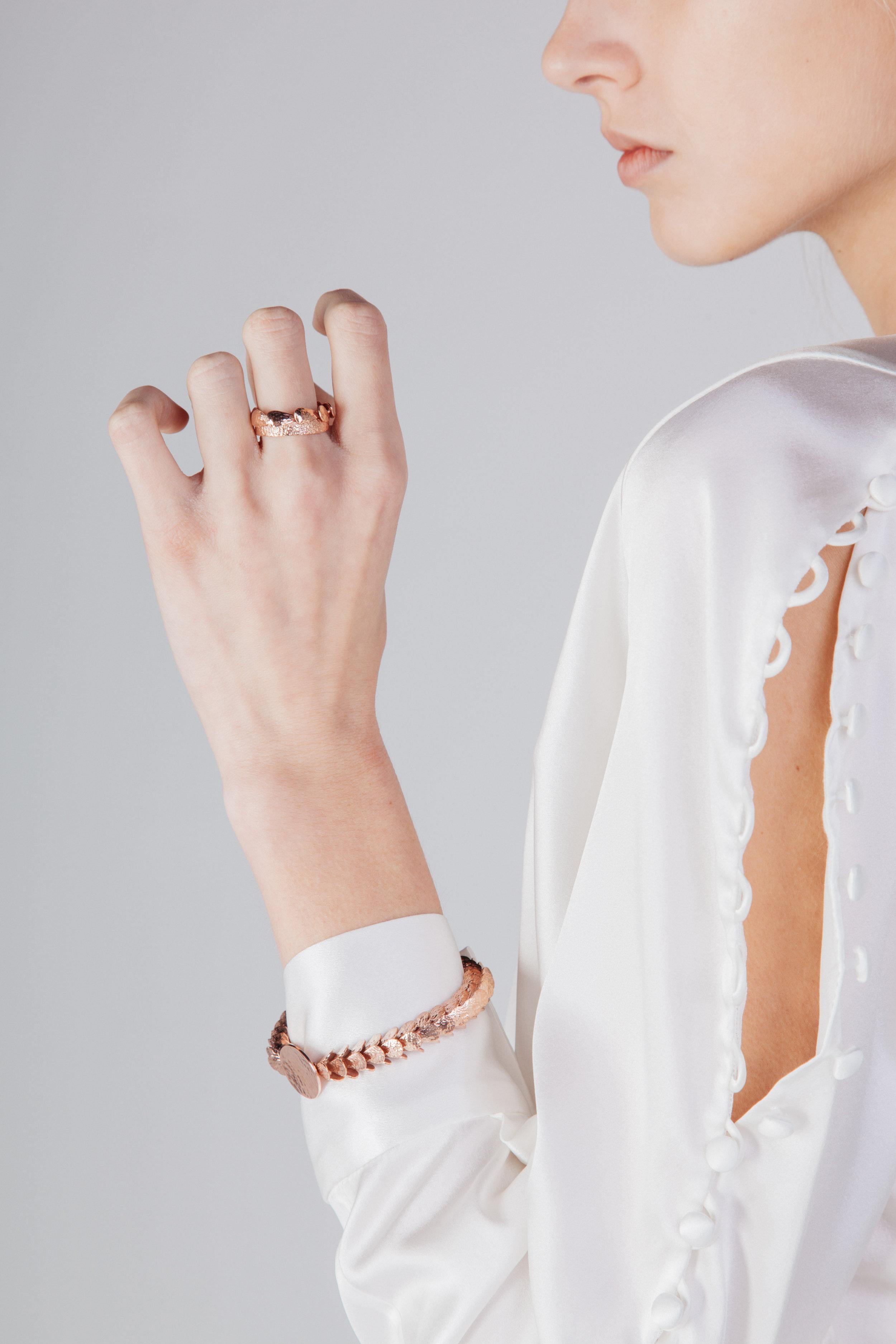 Nebra - Ring and Nebra Disc II - Bracelet