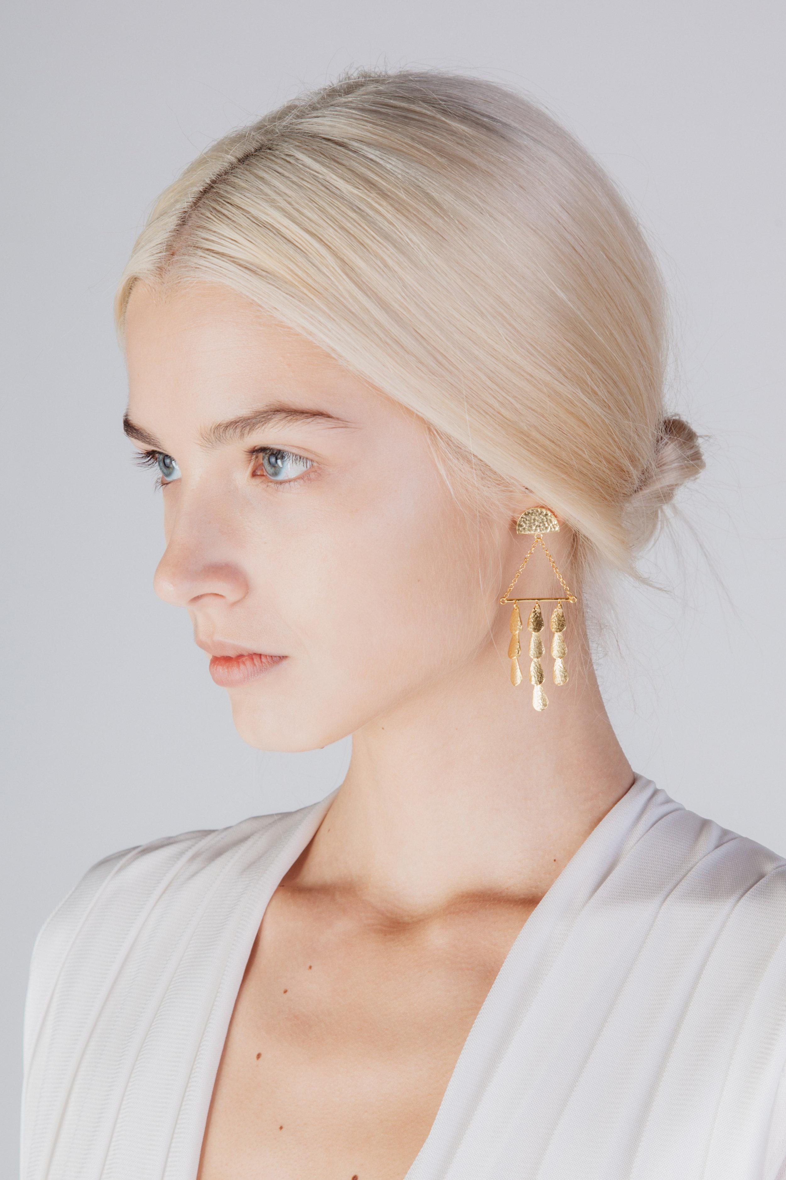 Triangle Perseids - Earrings