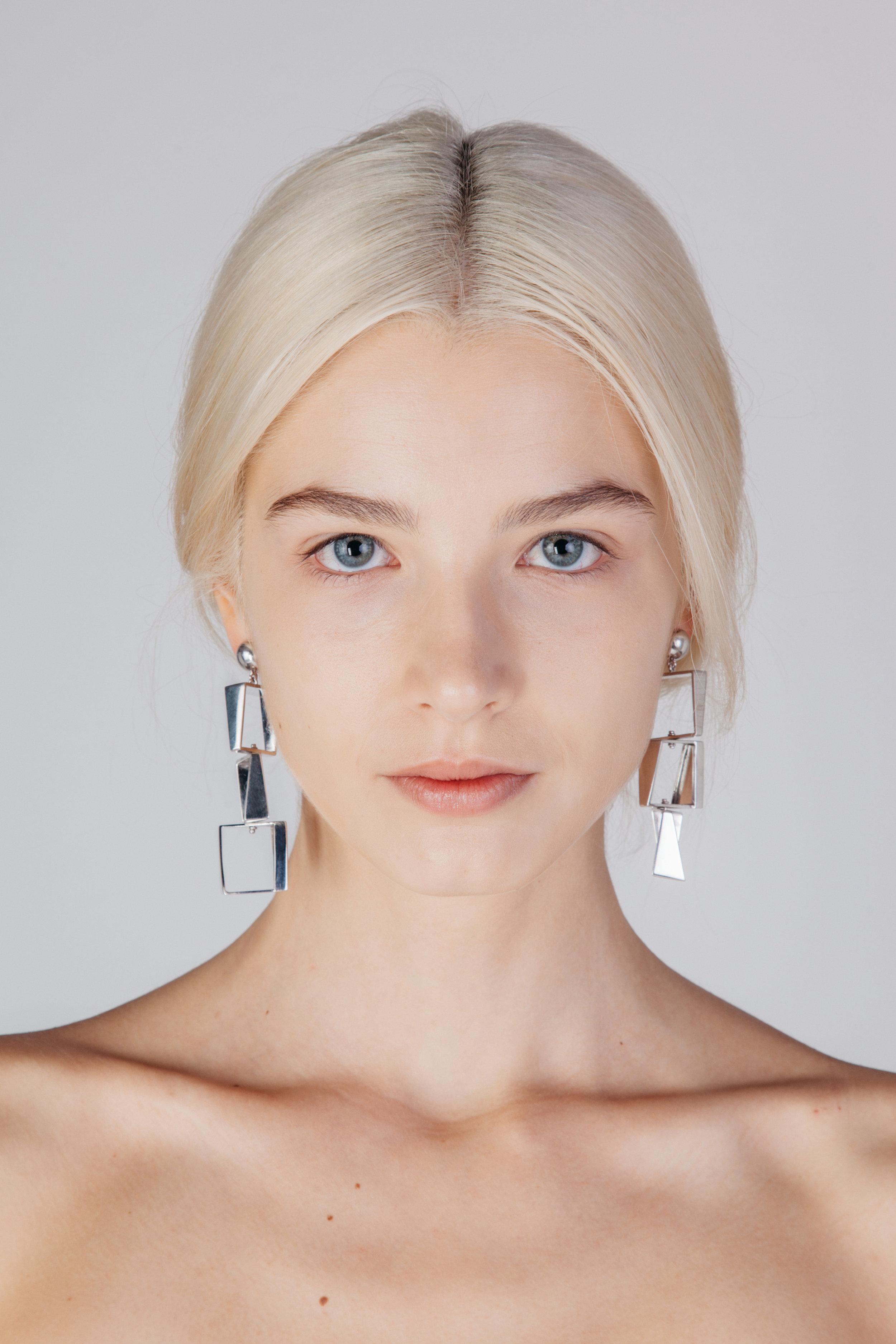 Ascending Mirrors - Earrings