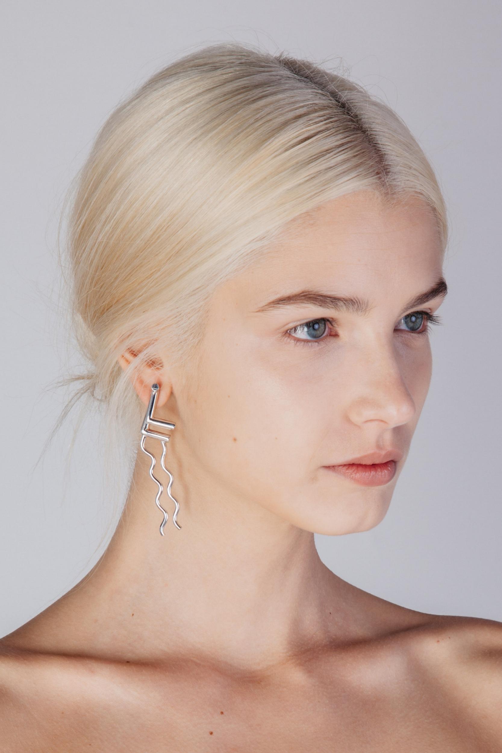 Triton Wave - Earrings