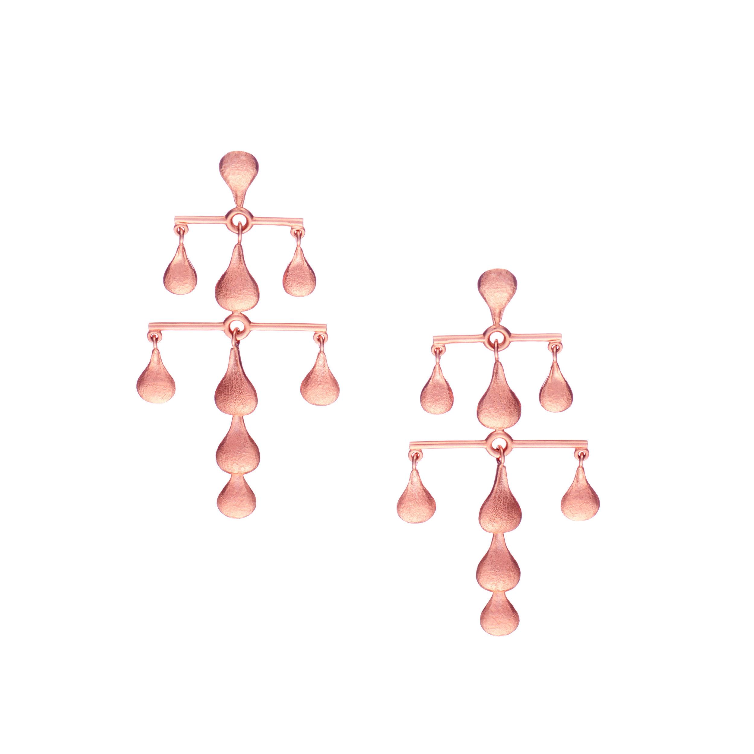 Linear A - Earrings