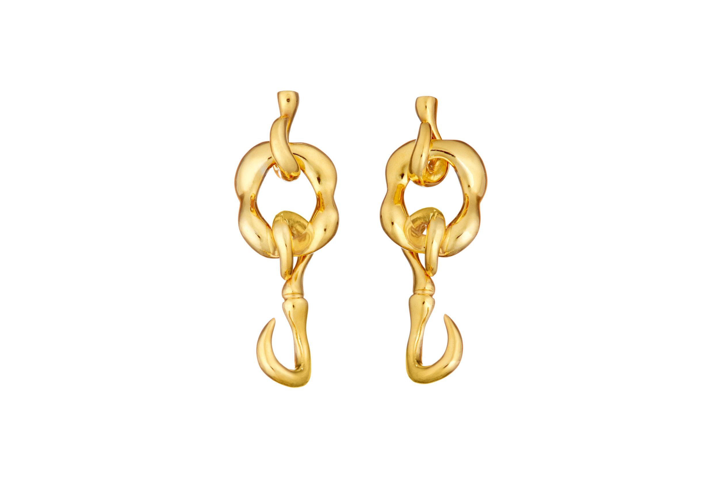 Hook Pendulum - Earrings