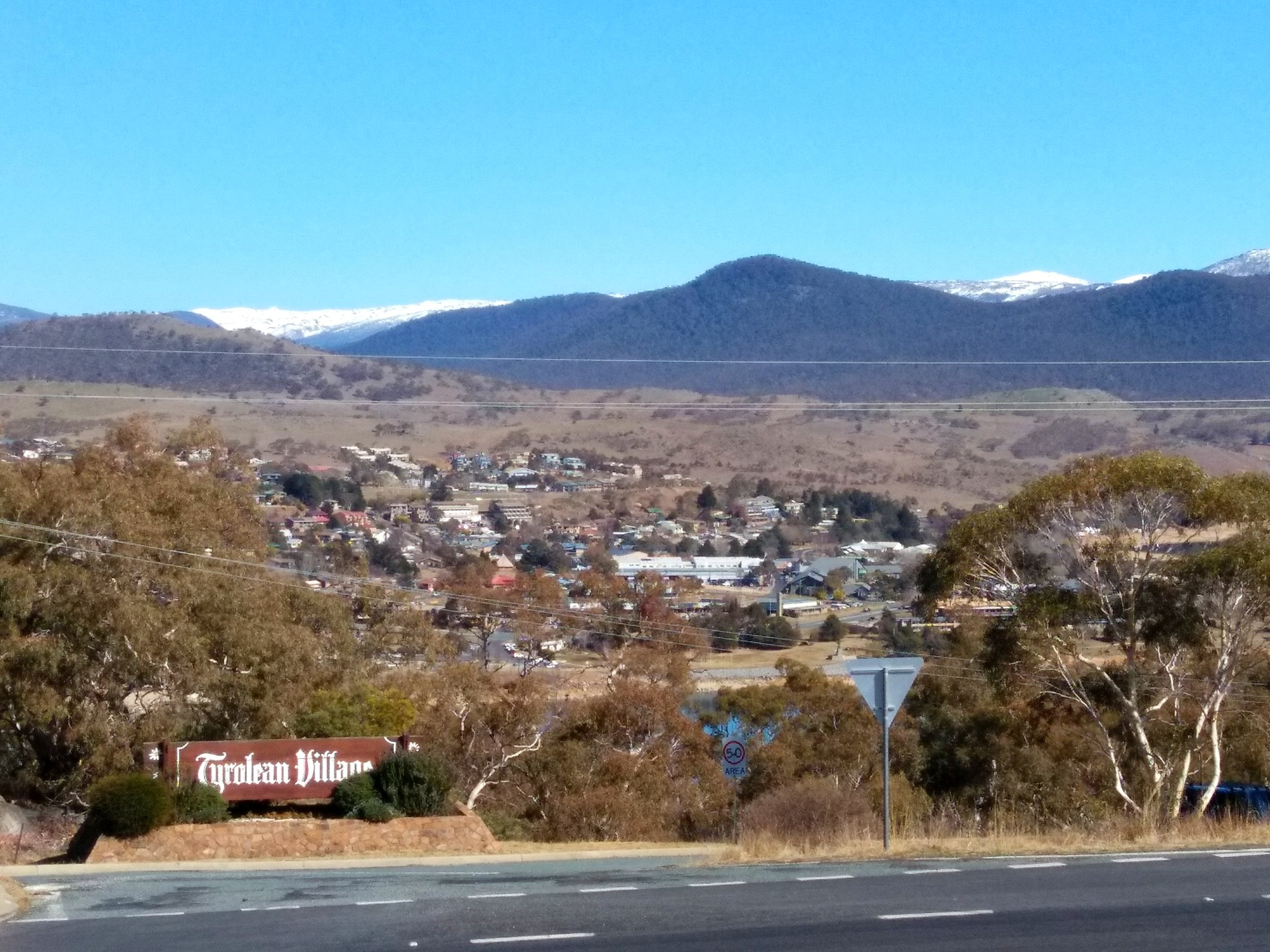 Ramshead and Mt Perisher from East Jindabyne