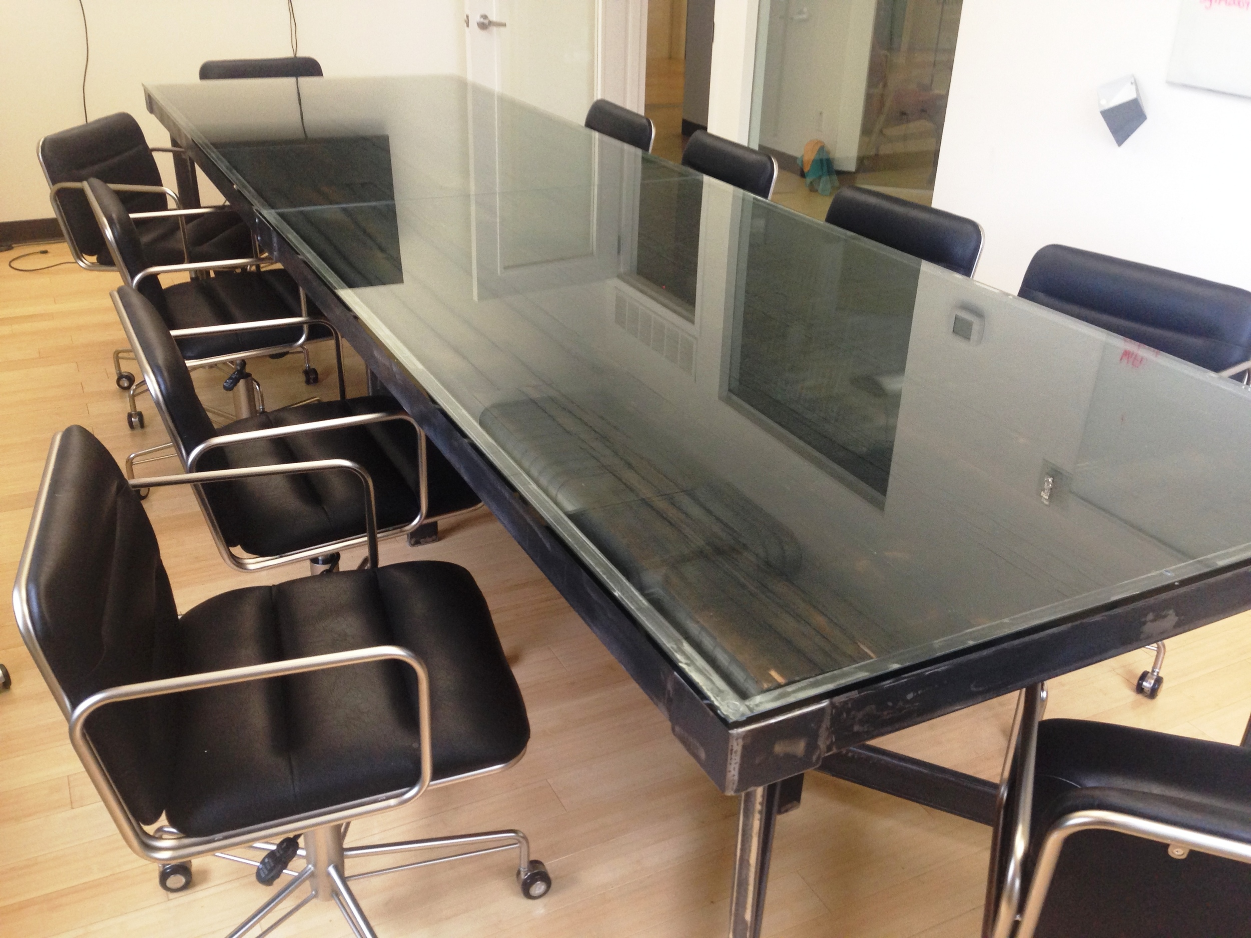 Huge Rustic Conference Table
