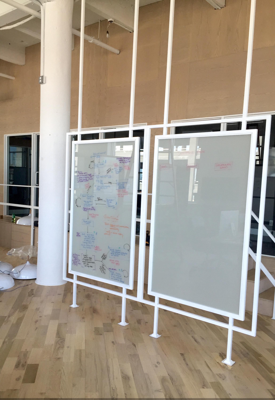Write on Glass Steel Panels