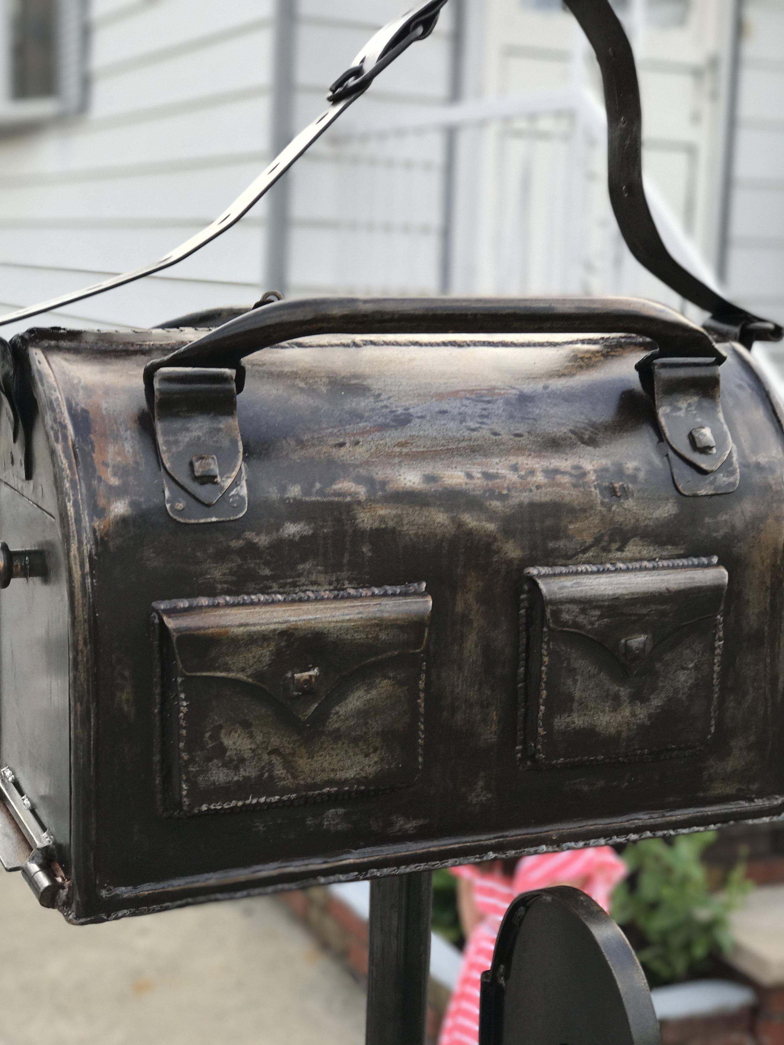 Metal Artistic Mailbox