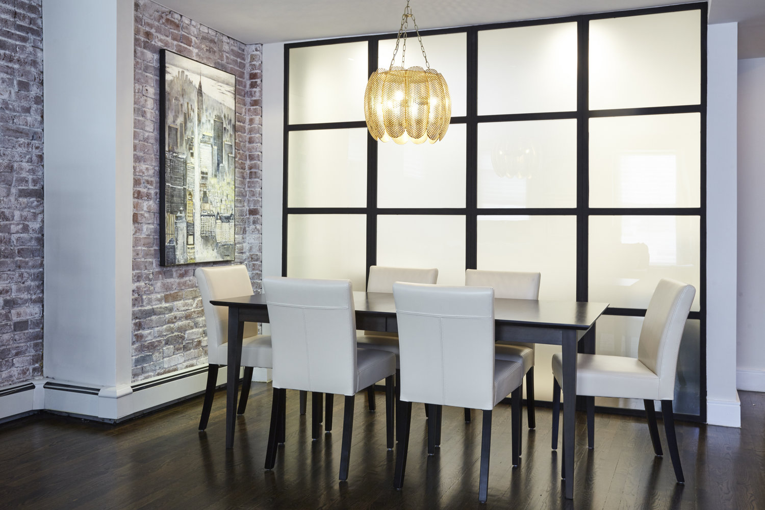 Privacy Room Steel & Glass Divider