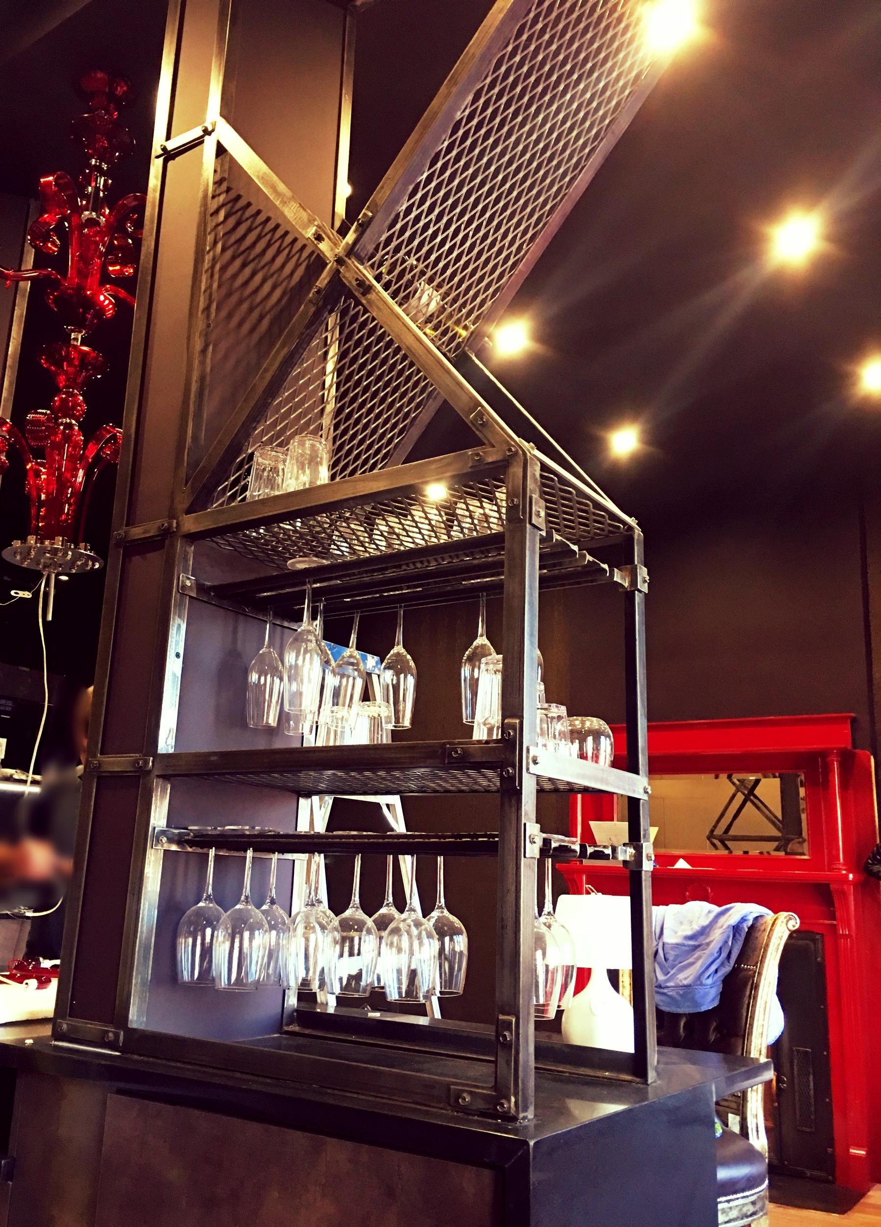 Industrial Home Bar