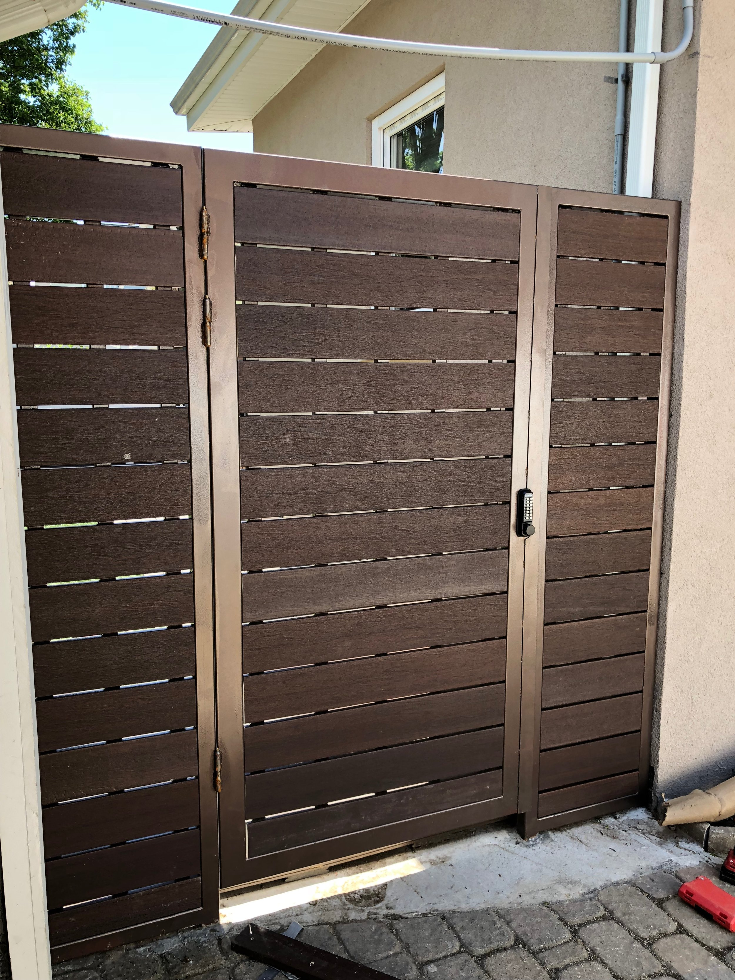 IPE Stainless Steel Entrance
