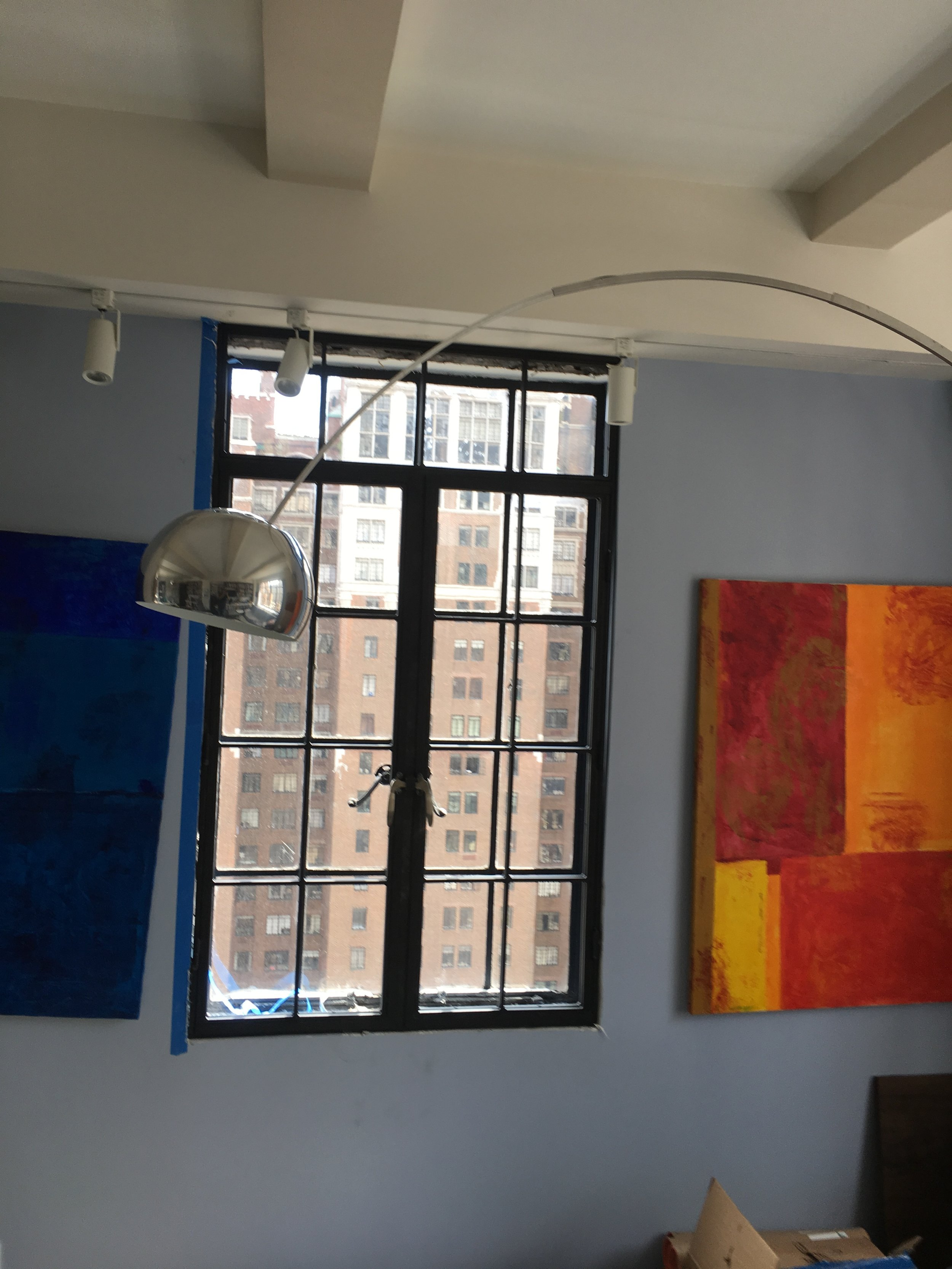 Double french windows