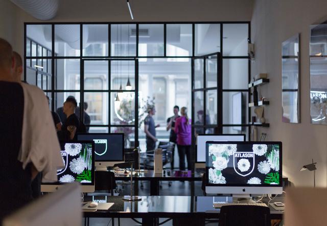 Steel & Glass Swing Door Office Partitions
