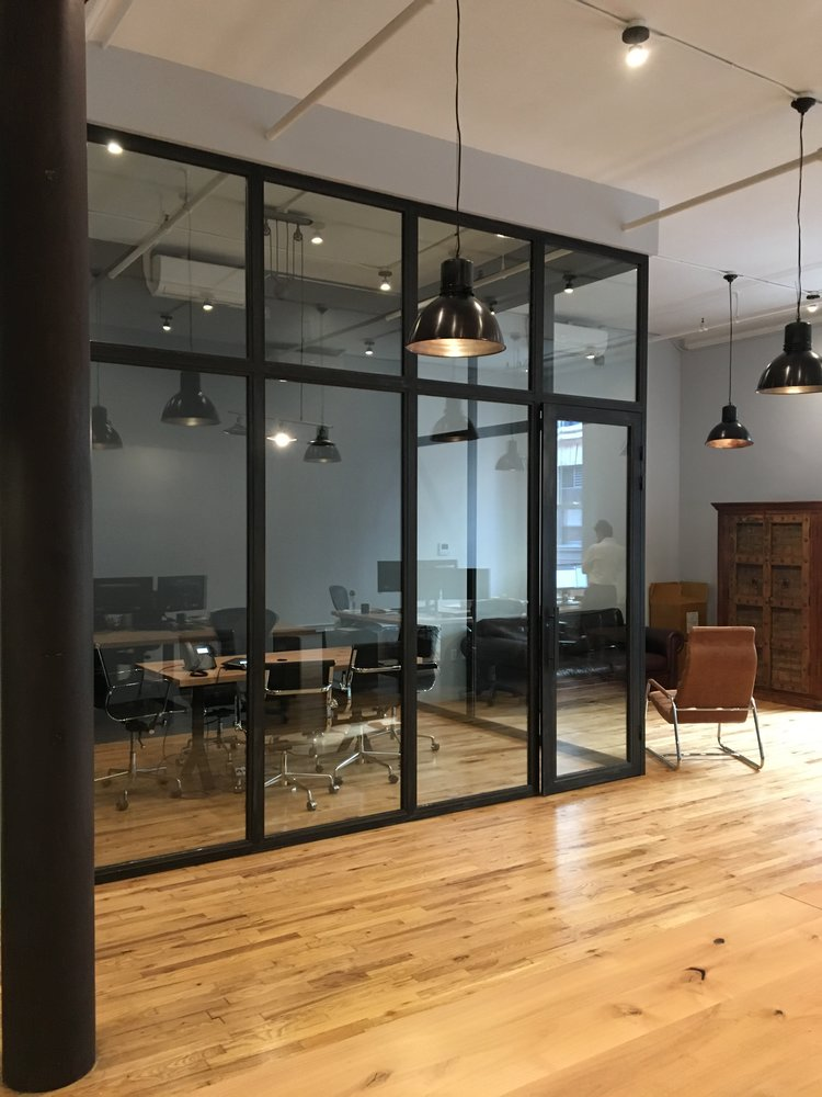 Soho Conference Office Partitions with Swing Door