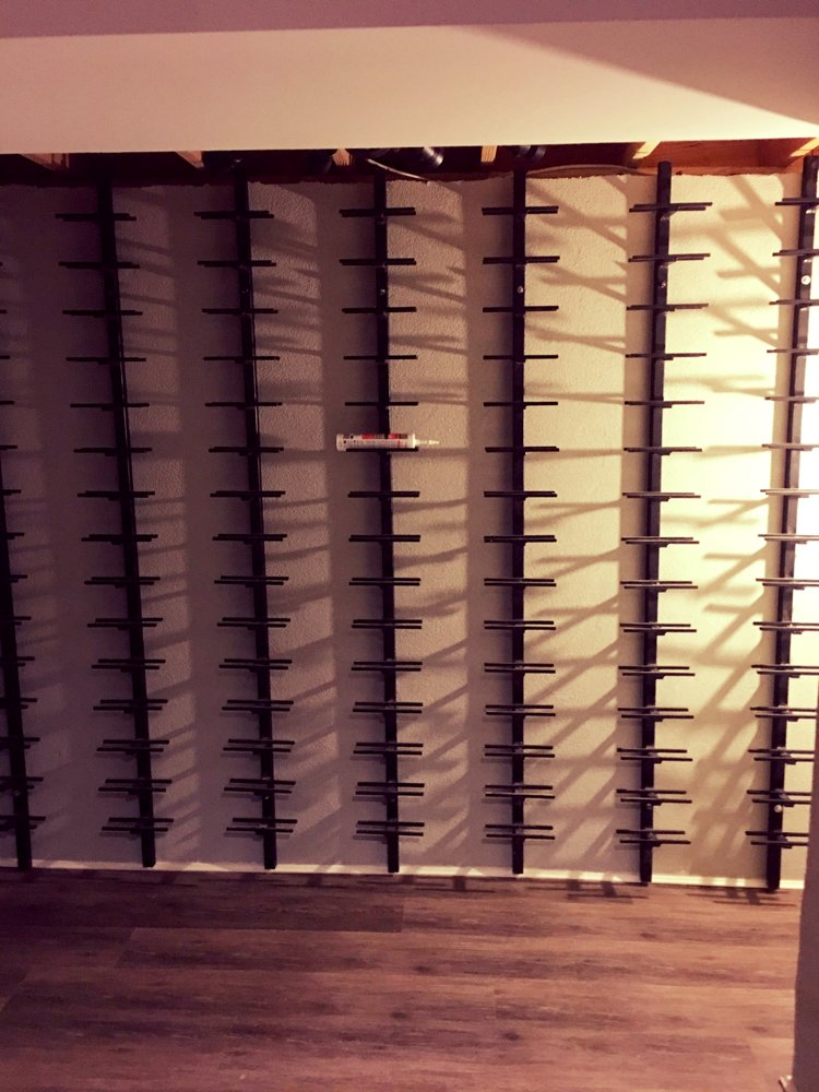 Steel & Glass Swing Double French Doors for Wine Cellar3.jpg