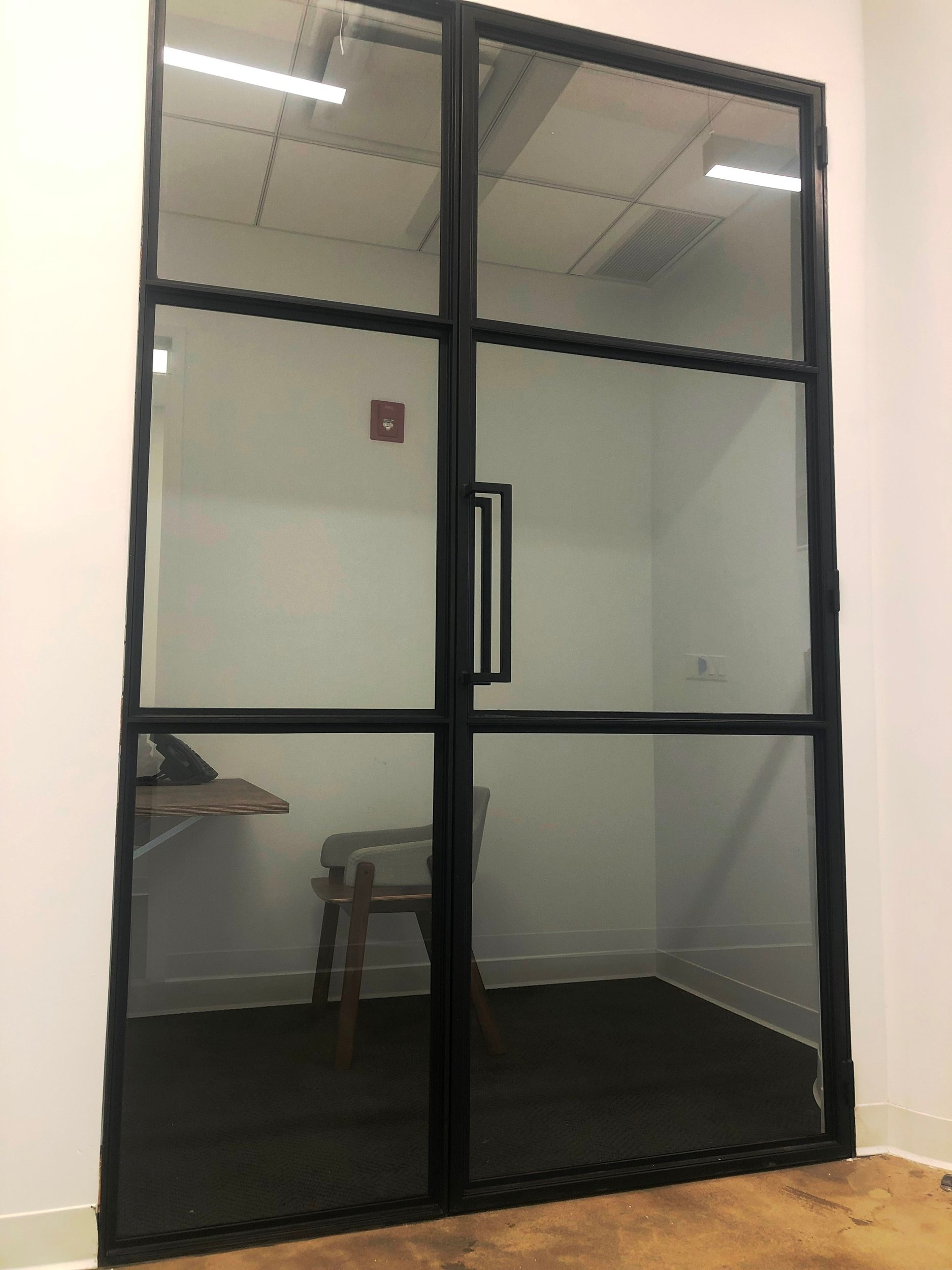 Soho, Steel & Glass Phone Booth