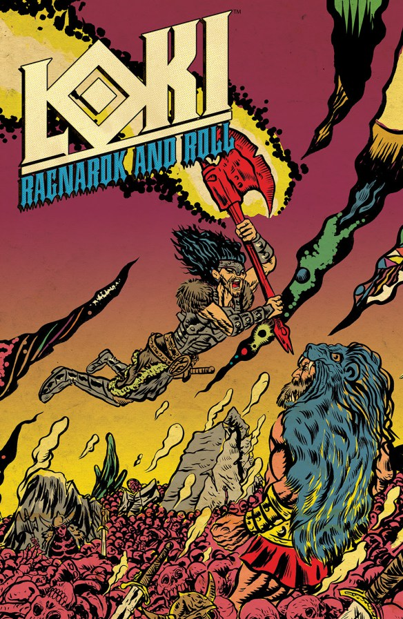 Loki: Ragnarock and Roll #3 cover