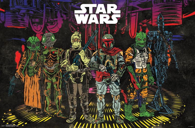Star Wars Bounty Hunters poster