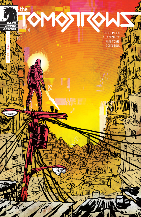 The Tomorrows #2 cover