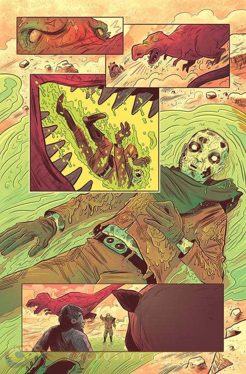 Deadpool comic page