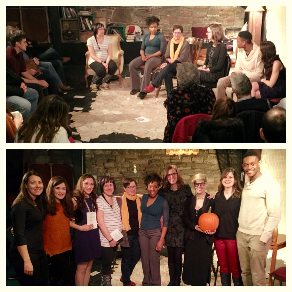 Lisa Heineman's talk-back at Binocular Theatre's production of Still, March 2016