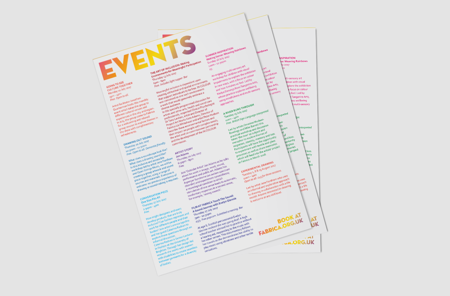 IN COLOUR-EVENTS-POSTER