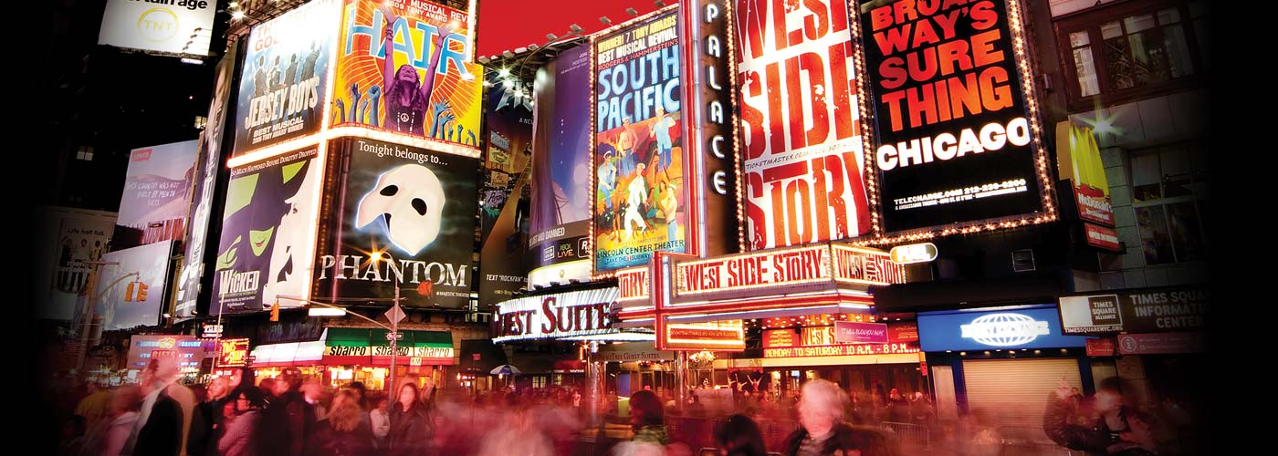 The lights of Broadway