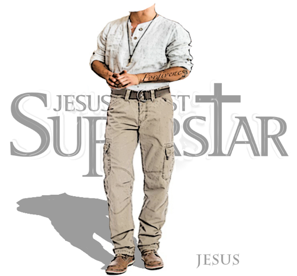 Costume Designer, Kathryn Wagner's, modern day interpretation of Jesus