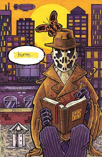 """Tribute to """"Watchmen"""" by DC Comics"""