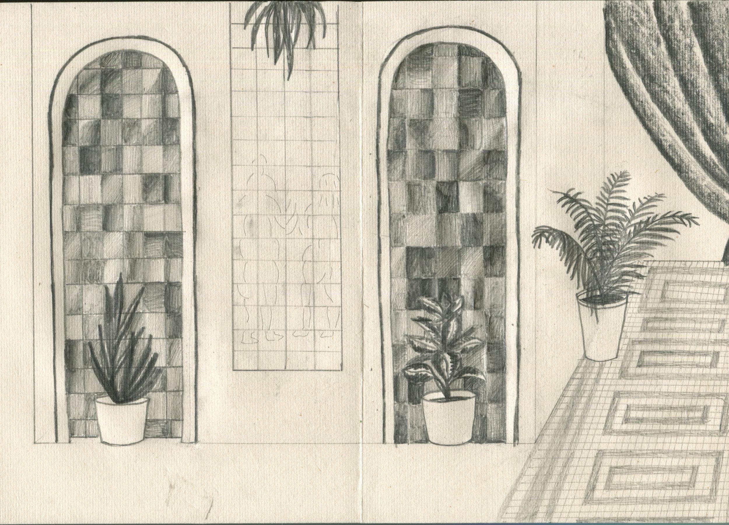 Yrjönkatu Swimming Hall (detail)