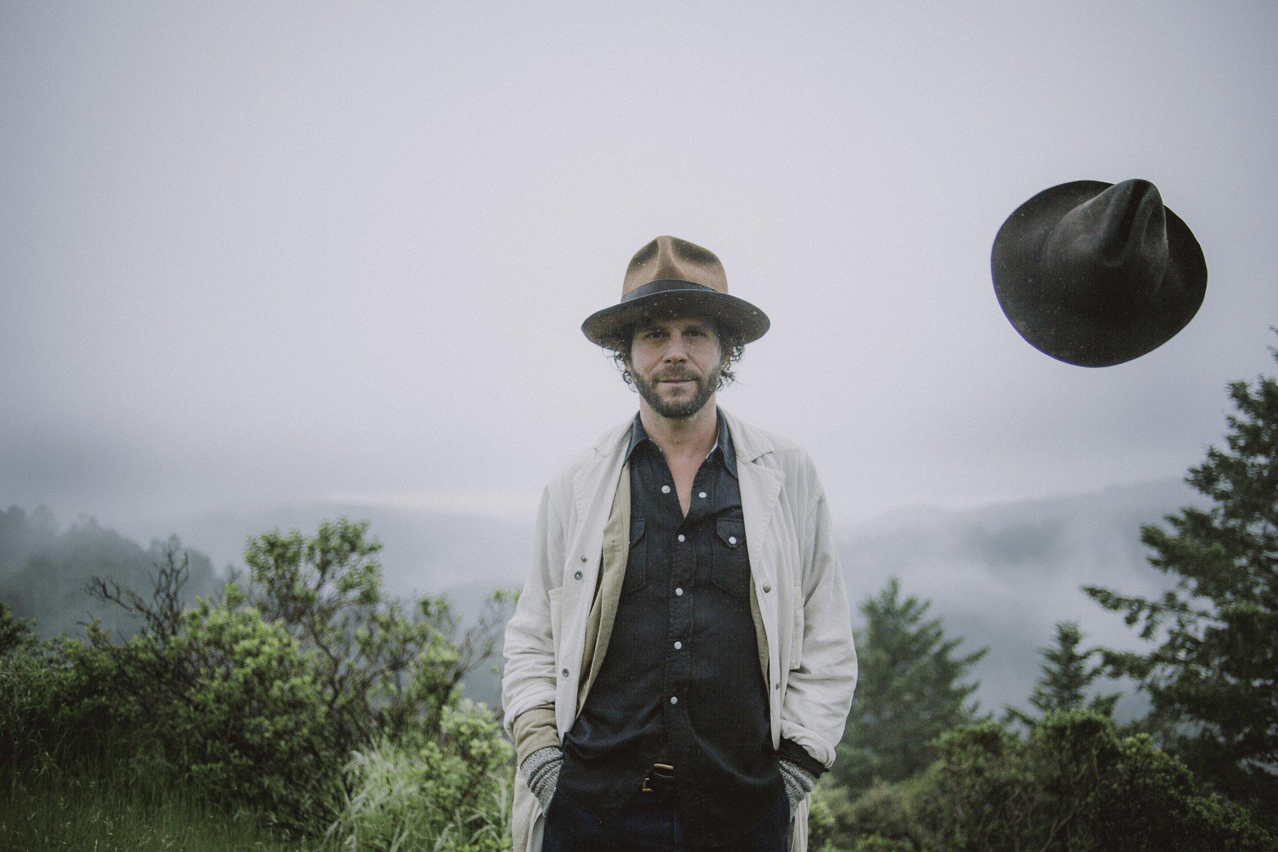 Langhorne Slim Hat Toss - Harvey Robinson