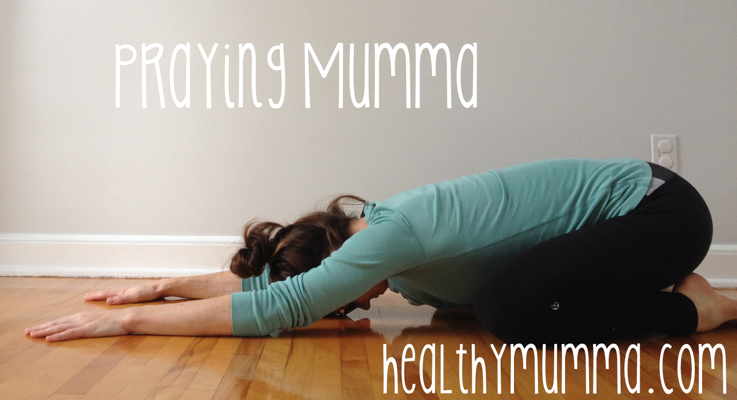 Child's pose is a great exercise to help relieve back pain from poor nursing posture.