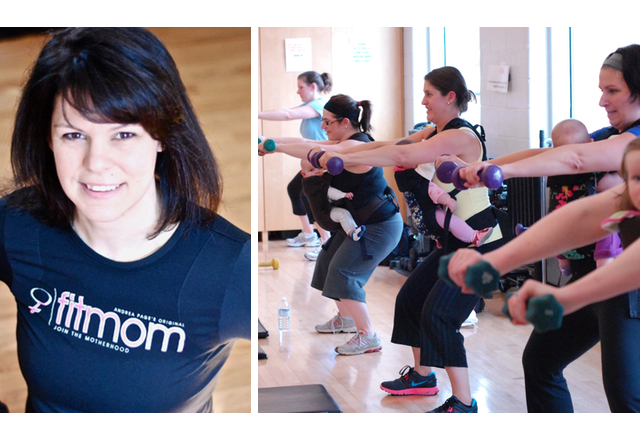 Susan McDonald of FitMom Ottawa local prenatal and postnatal fitness group