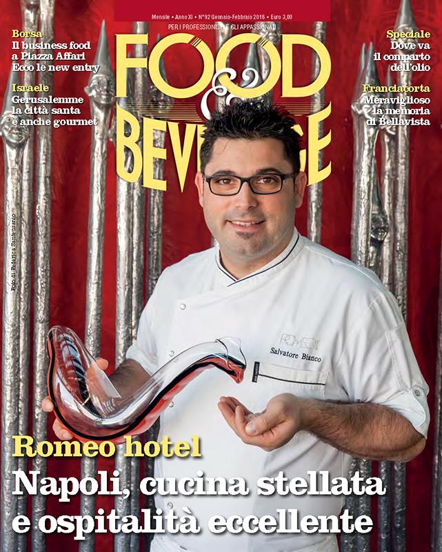 """Salvatore Bianco,Chef of """"Il Comandate"""" - Napoli"""