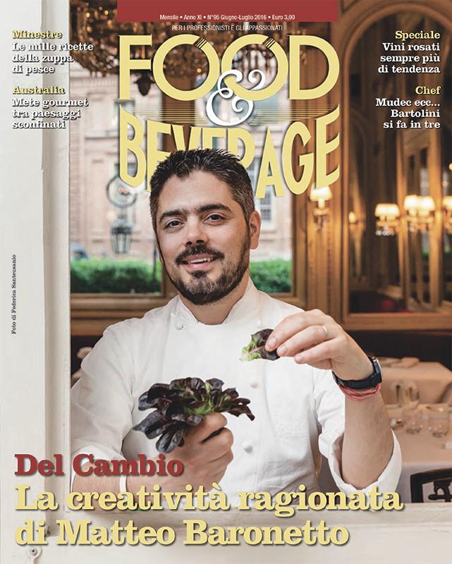 """Matteo Baronetto, Chef of """"Del Cambio"""" - Torino"""