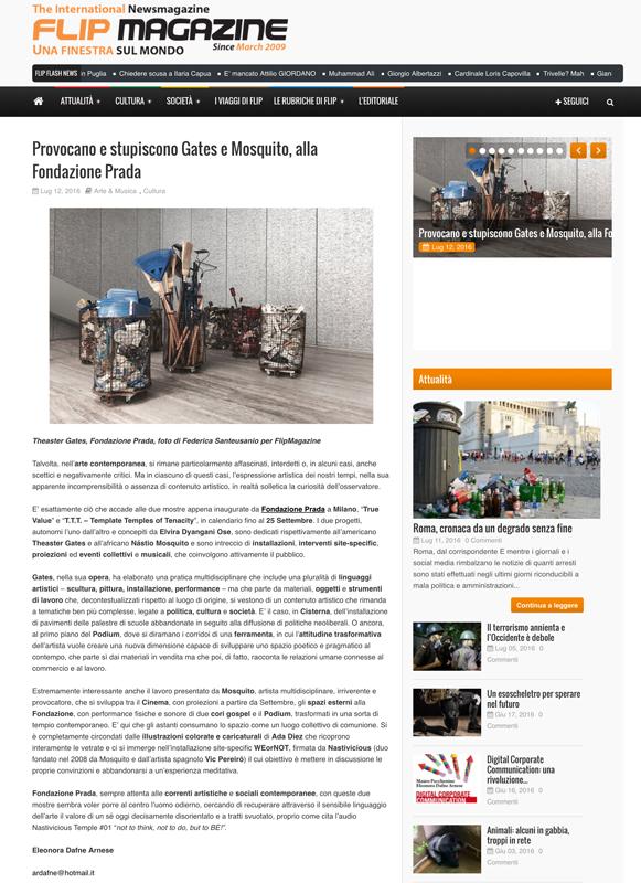 Fondazione Prada on Flip Magazine